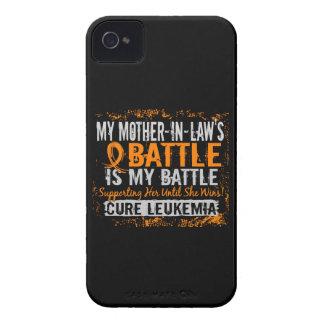 Mi batalla suegra de demasiado 2 leucemias iPhone 4 Case-Mate carcasas