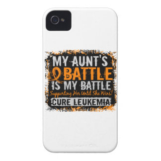 Mi batalla tía de demasiado 2 leucemias Case-Mate iPhone 4 protector