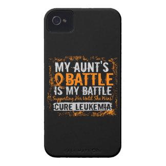 Mi batalla tía de demasiado 2 leucemias Case-Mate iPhone 4 coberturas