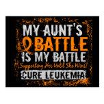 Mi batalla tía de demasiado 2 leucemias postal