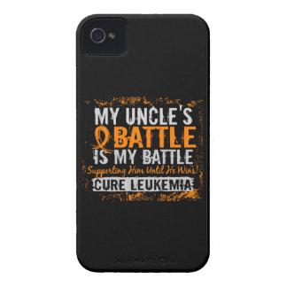 Mi batalla tío de demasiado 2 leucemias Case-Mate iPhone 4 cobertura