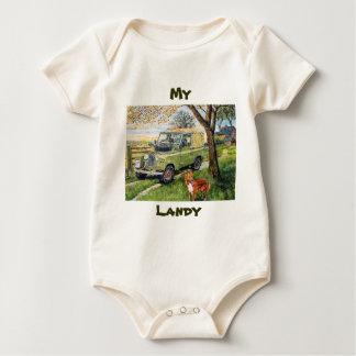 Mi bebé de Landy crece (la enredadera) Body Para Bebé