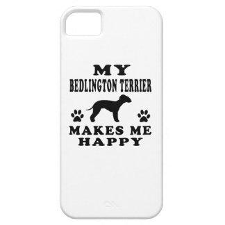 Mi Bedlington Terrier me hace feliz iPhone 5 Case-Mate Fundas