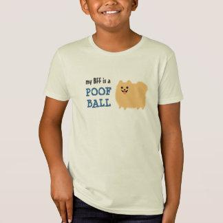 Mi BFF es una bola del Poof - perro divertido de Playera