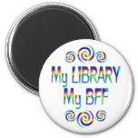 Mi biblioteca BFF Imán