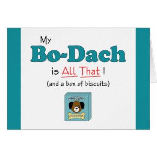 ¡Mi BO-Dach es toda la eso! Felicitación