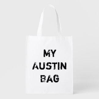 Mi bolso de ultramarinos de Austin TX - ninguna ci Bolsas Para La Compra