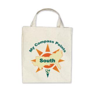 Mi bolso de ultramarinos orgánico del sur de los p bolsa