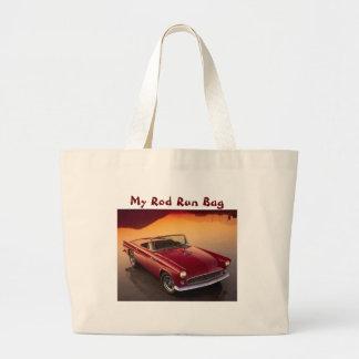 Mi bolso del funcionamiento de Rod, rojo Bolsa De Tela Grande
