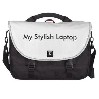 Mi bolso elegante del ordenador portátil bolsas para ordenador