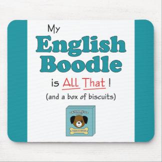¡Mi Boodle inglés es todo el eso! Alfombrillas De Ratones