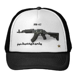 Mi Boss AK - 47 para su cara Gorros