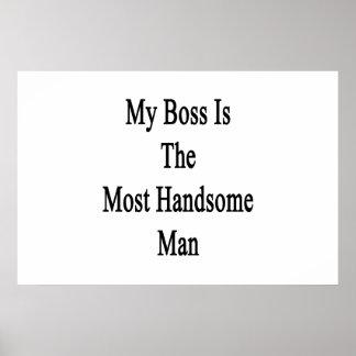 Mi Boss es el hombre más hermoso Póster
