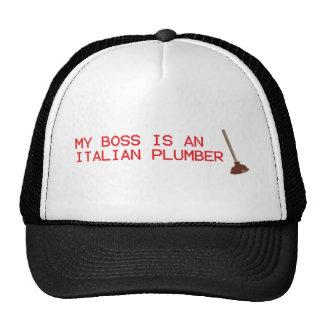 Mi Boss es fontanero italiano - videojuego de Mari Gorra