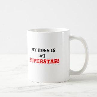 ¡Mi Boss es la superestrella #1! Taza