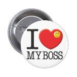 Mi Boss Pin Redondo De 2 Pulgadas
