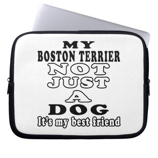 Mi Boston Terrier no apenas un perro Funda Portátil