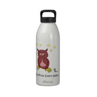 Mi botella de agua del búho
