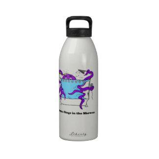 Mi botella de agua del pulpo
