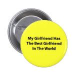Mi botón de la novia (redondo) pins