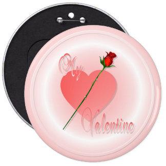 Mi botón de la tarjeta del día de San Valentín Pin