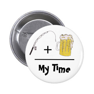 Mi botón del tiempo pin redondo de 2 pulgadas