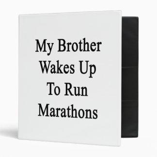 Mi Brother despierta para funcionar con maratones