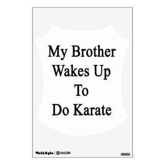 Mi Brother despierta para hacer Karate png