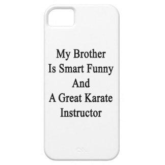 Mi Brother es divertido elegante y un gran karate iPhone 5 Cobertura