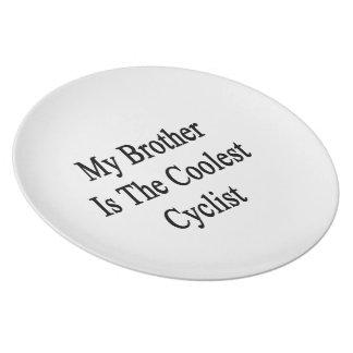 Mi Brother es el ciclista más fresco Platos