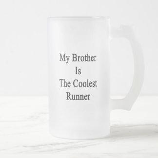 Mi Brother es el corredor más fresco Taza De Café