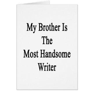 Mi Brother es el escritor más hermoso