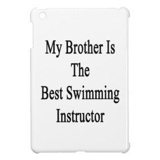Mi Brother es el mejor instructor de la natación