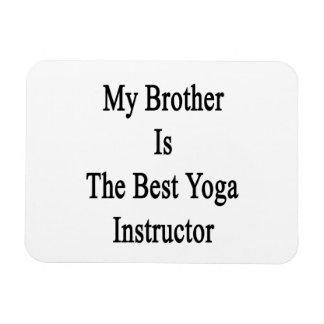 Mi Brother es el mejor instructor de la yoga Iman