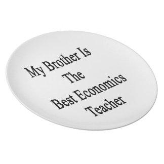 Mi Brother es el mejor profesor de la economía