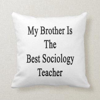 Mi Brother es el mejor profesor de la sociología Cojines
