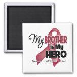Mi Brother es mi héroe - mieloma múltiple Iman De Frigorífico
