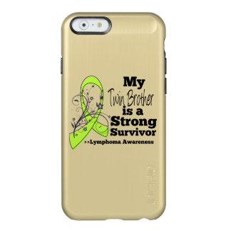 Mi Brother gemelo es un superviviente fuerte del Funda Para iPhone 6 Plus Incipio Feather Shine