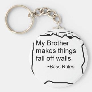 Mi Brother hace caída de las cosas de reglas del b Llavero