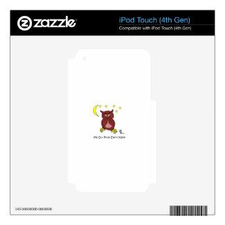 Mi búho skins para iPod touch 4G