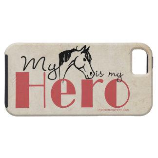 Mi caballo es mi héroe iPhone 5 funda
