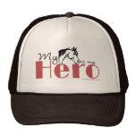 Mi caballo es mi héroe gorros