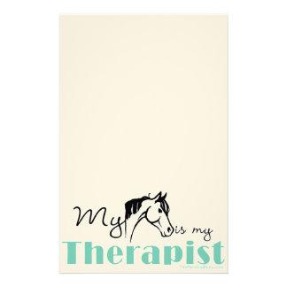 Mi caballo es mi terapeuta papelería