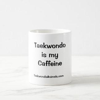 Mi cafeína tazas de café