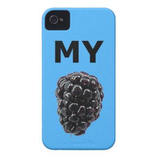 """""""Mi caja de la casamata de Blackberry"""" Blackberry iPhone 4 Case-Mate Cobertura"""