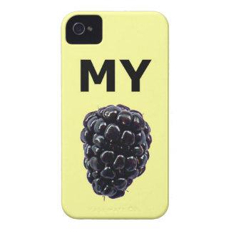 """""""Mi caja de la casamata de Blackberry"""" Blackberry iPhone 4 Case-Mate Cárcasas"""
