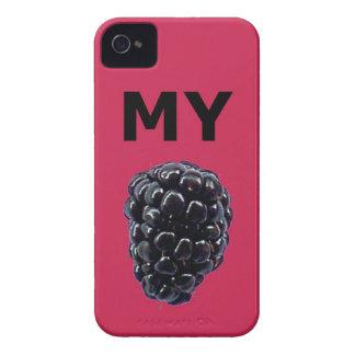 """""""Mi caja de la casamata de Blackberry"""" Blackberry Case-Mate iPhone 4 Carcasa"""