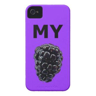 """""""Mi caja de la casamata de Blackberry"""" Blackberry iPhone 4 Case-Mate Cárcasa"""
