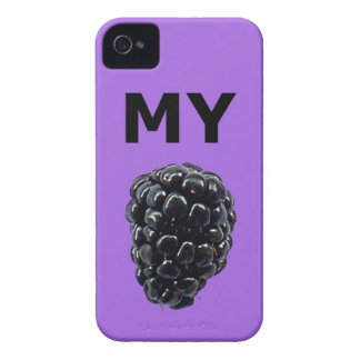 """""""Mi caja de la casamata de Blackberry"""" Blackberry iPhone 4 Case-Mate Fundas"""