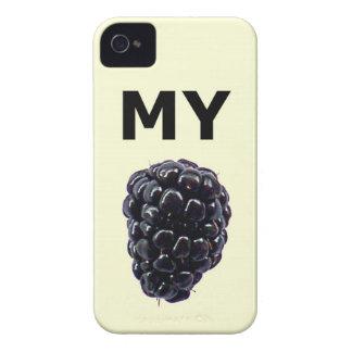 """Mi caja de la casamata de Blackberry"" Blackberry iPhone 4 Carcasa"